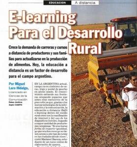 Elearning para el Desarrollo Rural