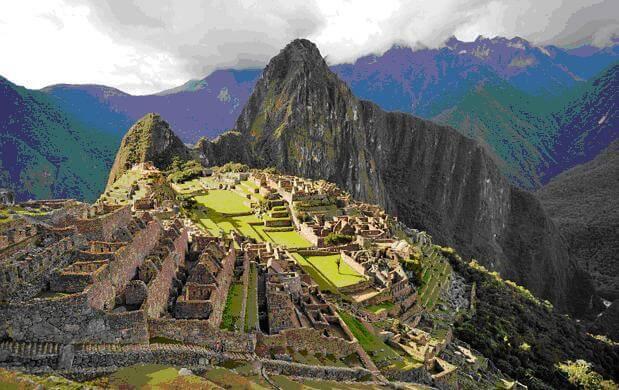 Machu Picchu:  manejo Inca del suelo. Fuente: https://www.peruincatrail.net/inca-jungle-machu-picchu-trek-hikhttps://www.peruincatrail.net/inca-jungle-machu-picchu-trek-hik